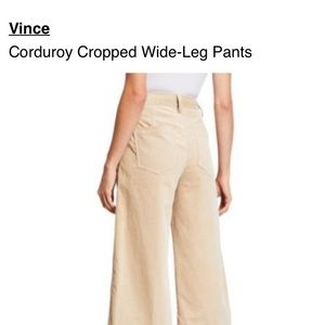 Vince high wasted cords